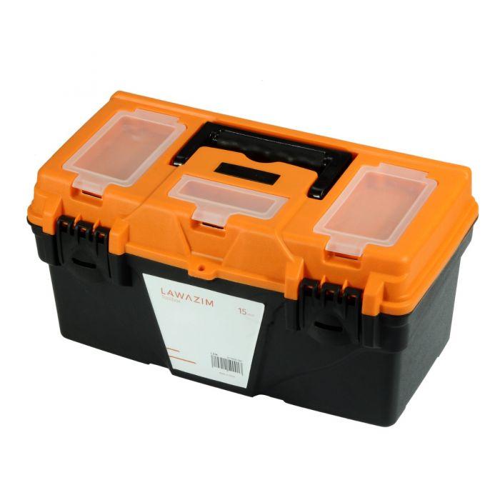 Heavy Duty Plastic Storage Toolbox 15 inch