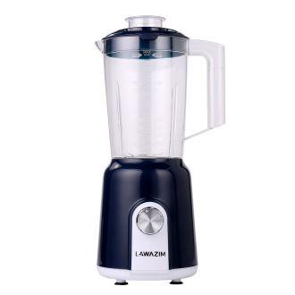 2-in-1 Two Speed Food Blender & Ice Crusher 300W 1.5L Jug with Coffee Grinder Black
